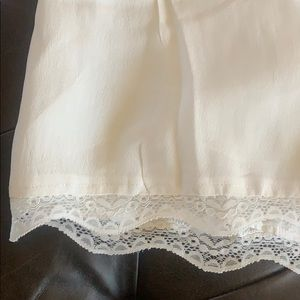 Tularosa Shorts - Tularosa x REVOLVE Charmer Lace Trim Plunge Romper